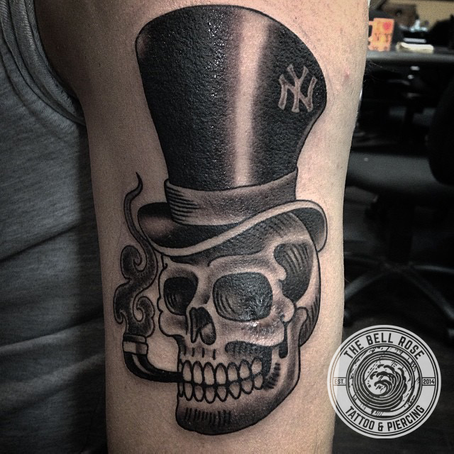 Rose Hat Tattoo Wwwpicsbudcom