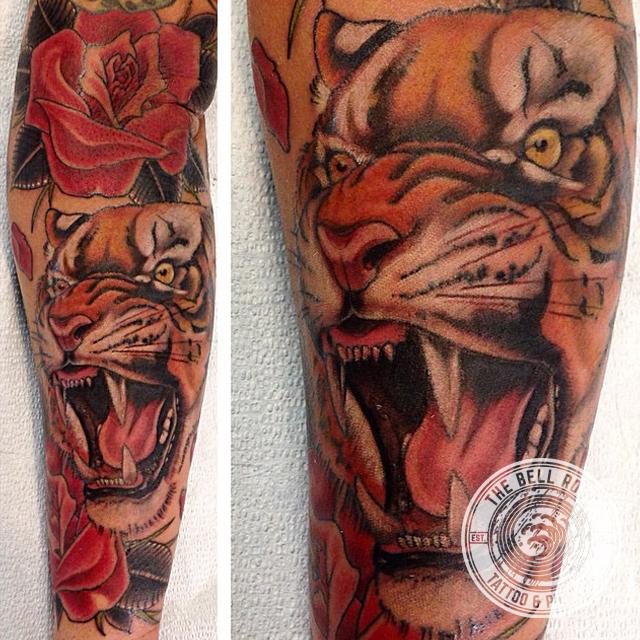 Lake Bell Tiger Tattoos