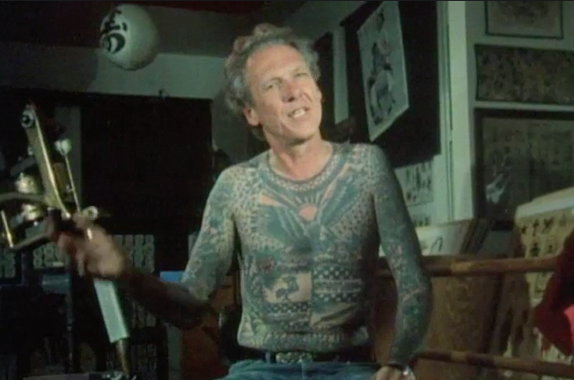 "Tattooist Lyle Tuttle describing his history in tattooing from ""Signatures of the Soul"""