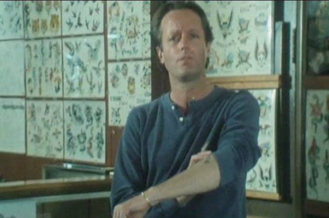 "Host Peter Fonda describing his experience with tattooing from ""Signatures of the Soul"""