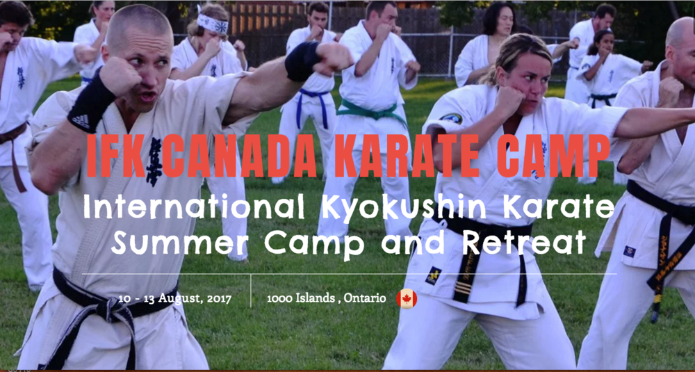 IFK Canada Karate Camp International Kyokushin Karate Summer - 10 amazing summer camps for adults in canada