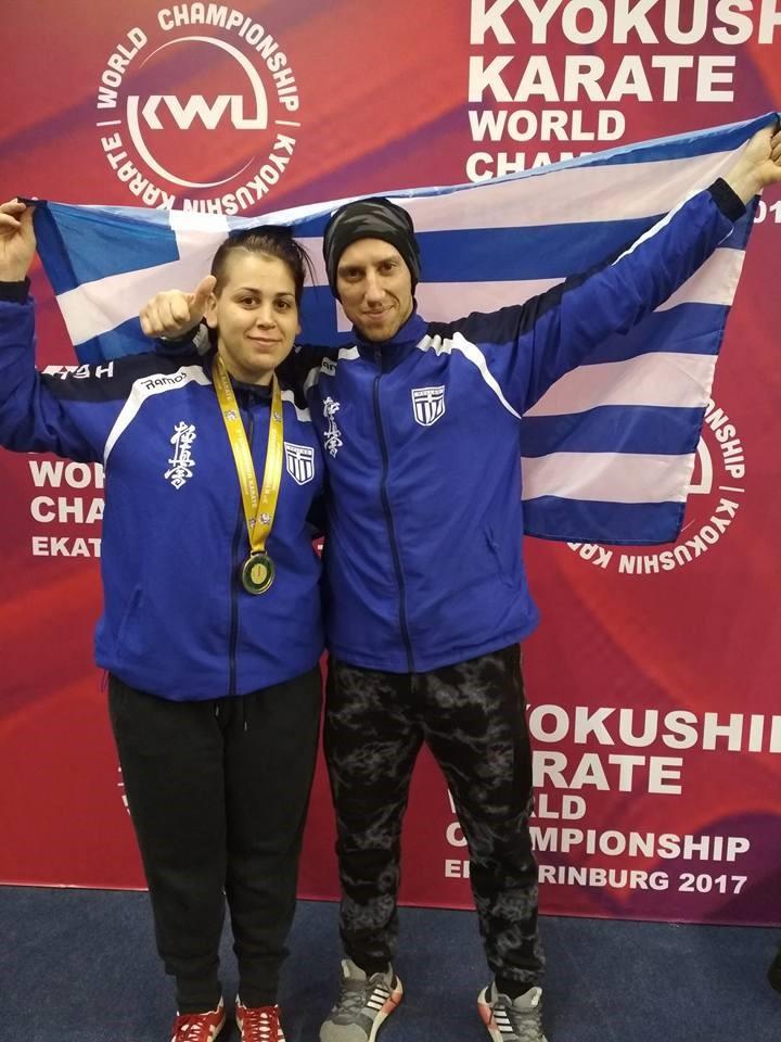 Maria Papadopoulou - Gold medal winner