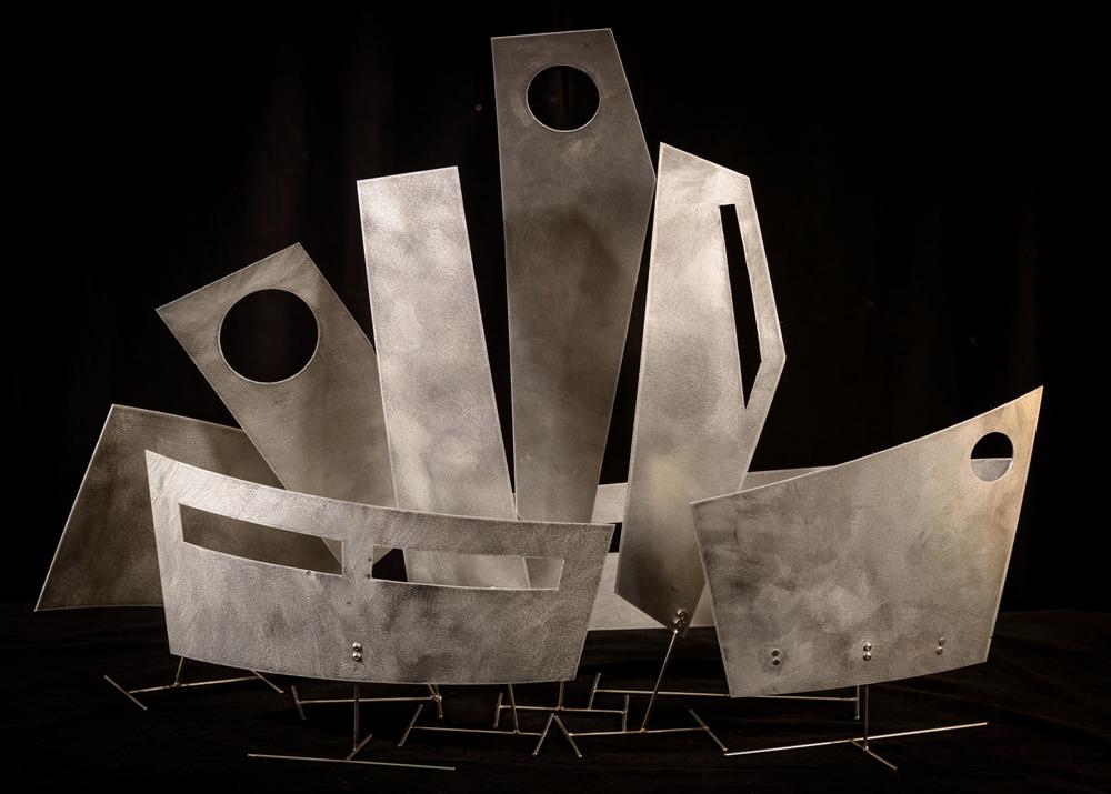 """Installation Maquette   2015  32"""" x 9"""" x 25"""""""