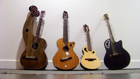 Kaki King's Guitars for 2011 Solo Acoustic Tour