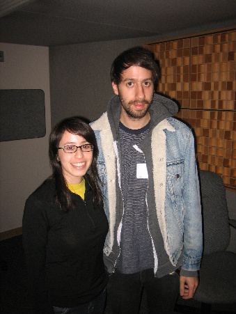 Gitner and Gold Panda at NPR