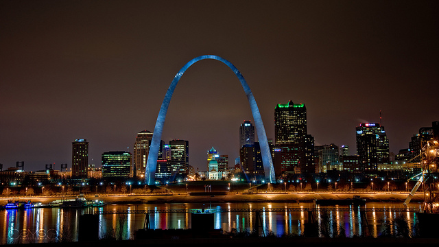 The Arch from East St. Louis
