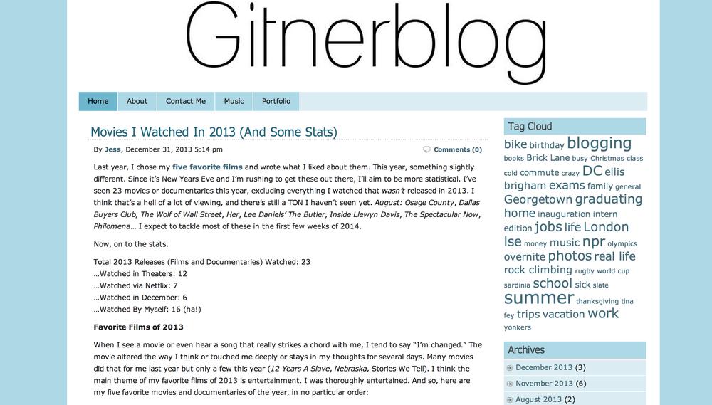 Gitnerblog 2.0