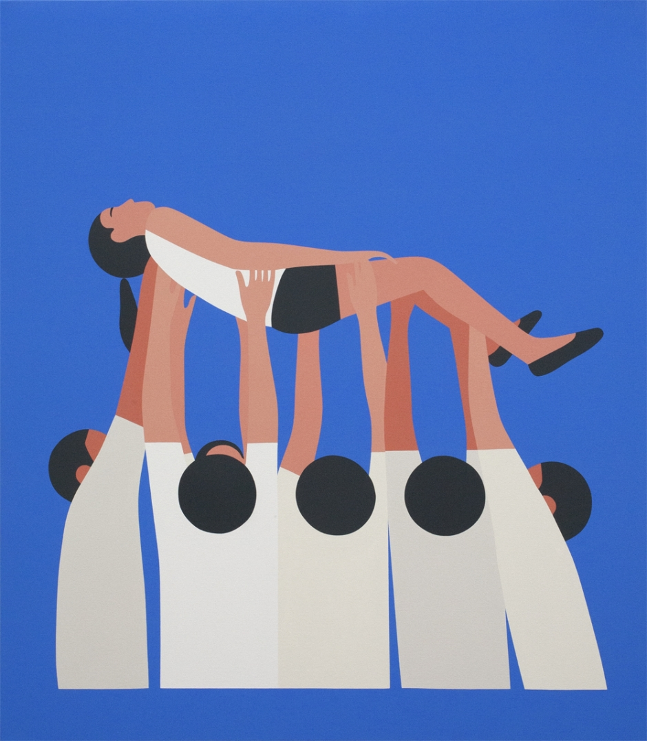 GEOFF MCFETRIDGE , Floating, 2012.