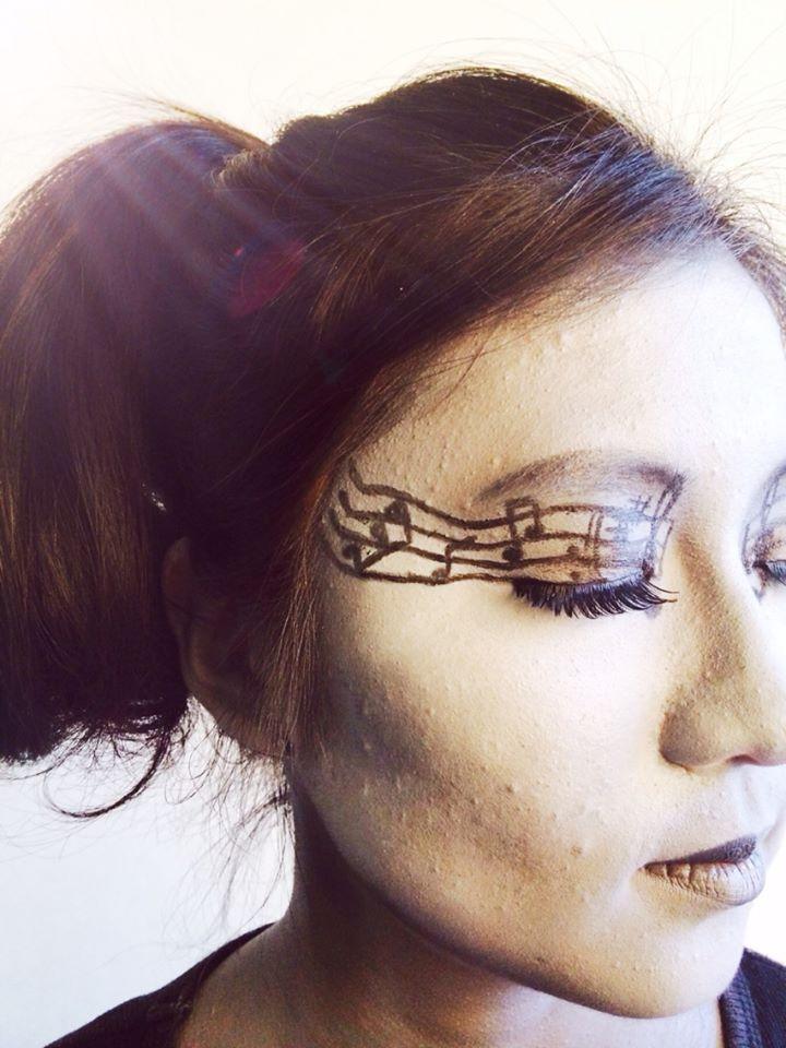 MUA: Sifan Lee (Min)   Model: Cathy   Photo:  Sifan Lee (Min)