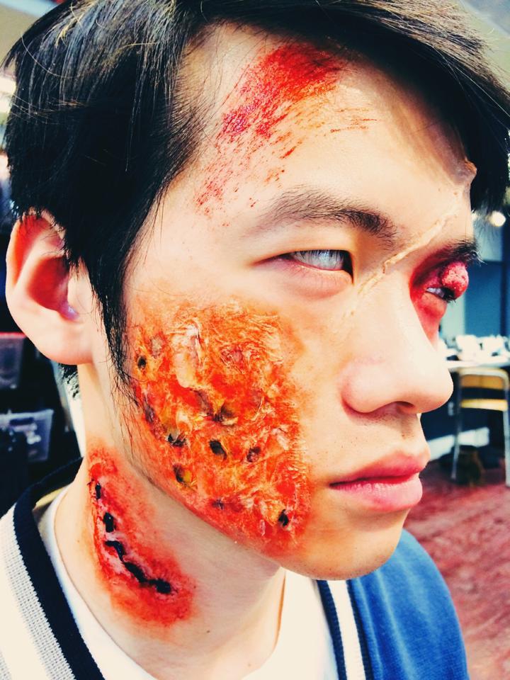 MUA: Sifan Lee (Min)   Model: Eddie Weng   Photo:  Sifan Lee (Min)