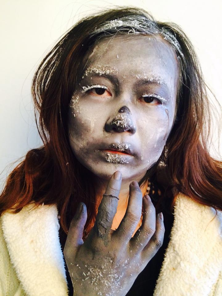 MUA: Sifan Lee (Min) Model: Colette Sun Photo:Sifan Lee (Min)