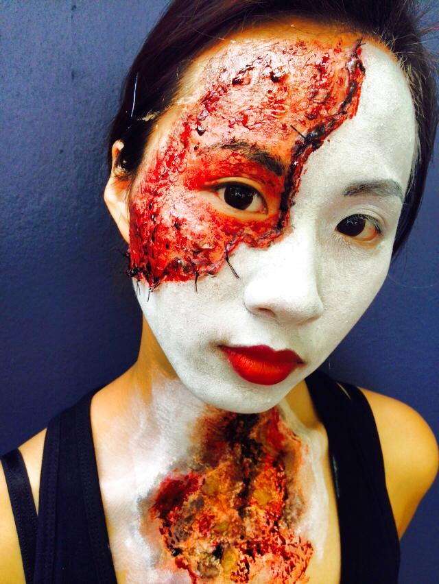 MUA: Sifan Lee (Min) Model: Alice Chen Photo:Sifan Lee (Min)