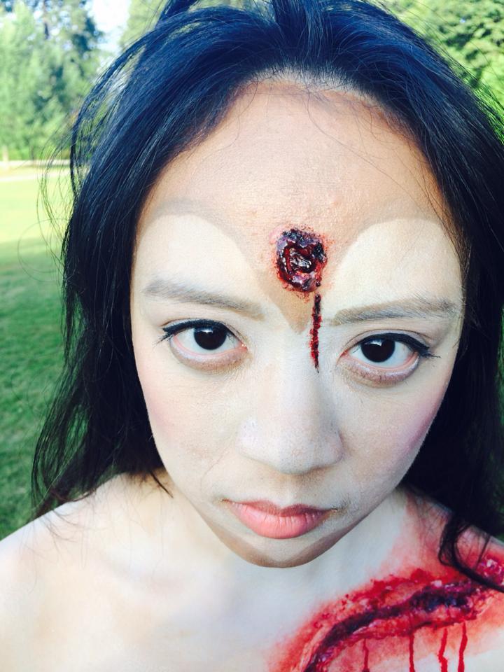 MUA: Sifan Lee (Min) Model: Suzy Fang Photo:Sifan Lee (Min)