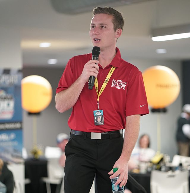 Had a great time speaking at the @primesport suite this morning. Big thanks to @heatherdebeaux for the invite! 📷: @michellelawsonphotography