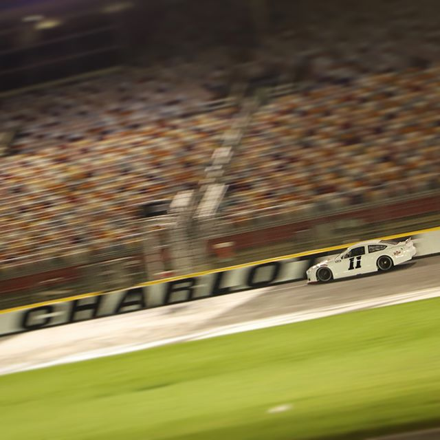 Good test last night @charlottemotorspeedway with KSR.  First experience on a 1.5 mile oval.  Made good progress and can't wait to race here in two weeks! 📷: @by.diego