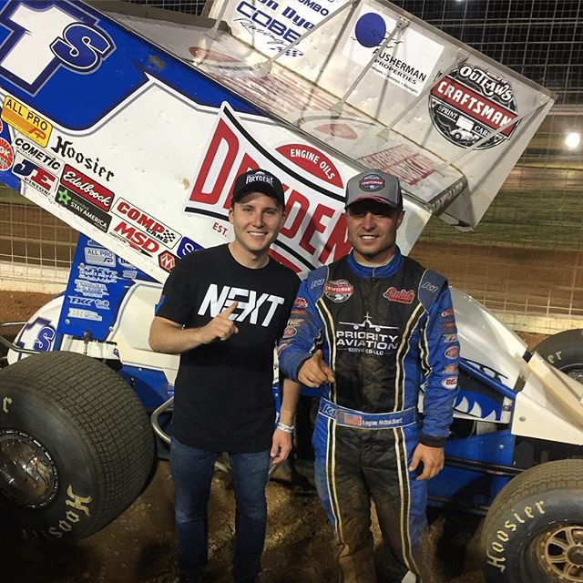 Awesome weekend of racing for @teamdrydene in Charlotte!  Congrats to @loganschuchart on the P3 finish in the @woosprint race tonight. 🏁👍🏻