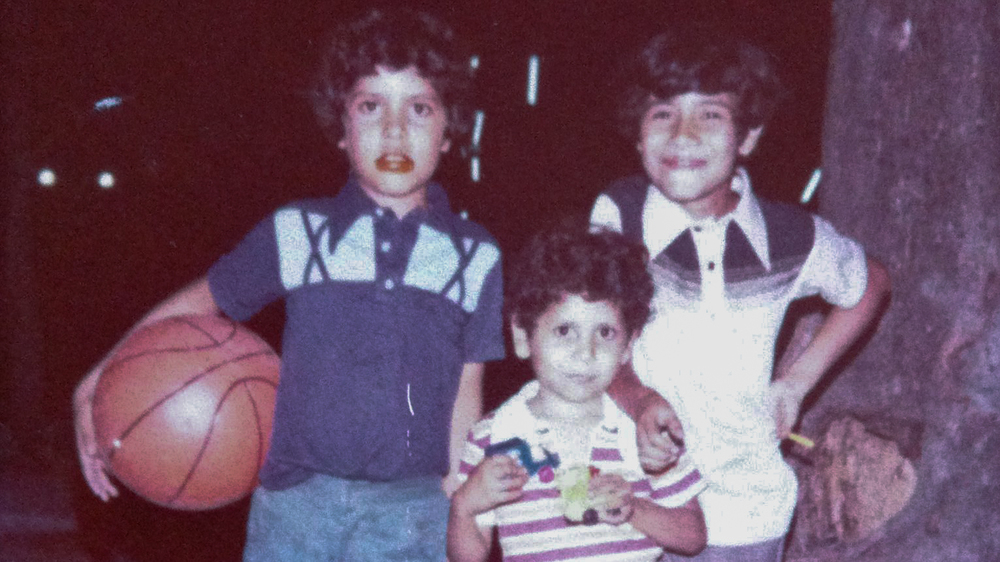 From Left to Right: The Castellanos Brothers - Alvaro, Boris and Ulysses - El Salvador