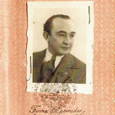 Certificado de George Mantello y su familia, emitido por el coronel Castellanos. (HERMANOS CASTELLANOS PARA LA NACIÓN)