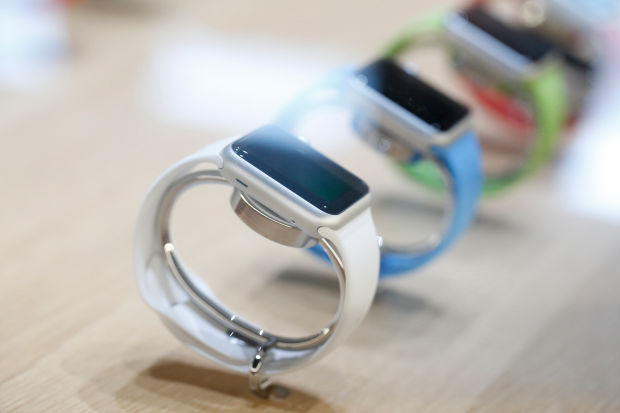 The Apple watch, ship date this month.