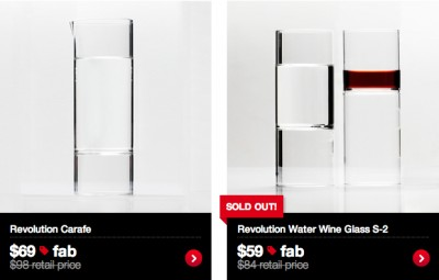 Glassware, Fab.com