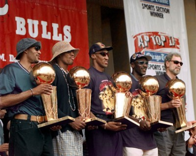 Chicago Bulls, NBA Champions, 1997