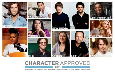 Recipients of USA Networks' 2011 Character Approved Awards