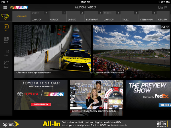 NASCAR Screen Shot News and Video.png