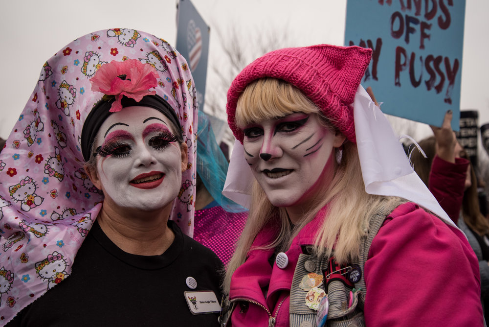 """Be open to listening to others who you feel may not agree with what you have to say. It's when we come together and work together that great things can happen in this country. If we shut ourselves down, nothing good will come from that."" —Sister Dietrich, Baltimore house of the Sisters of Perpetual Indulgence"