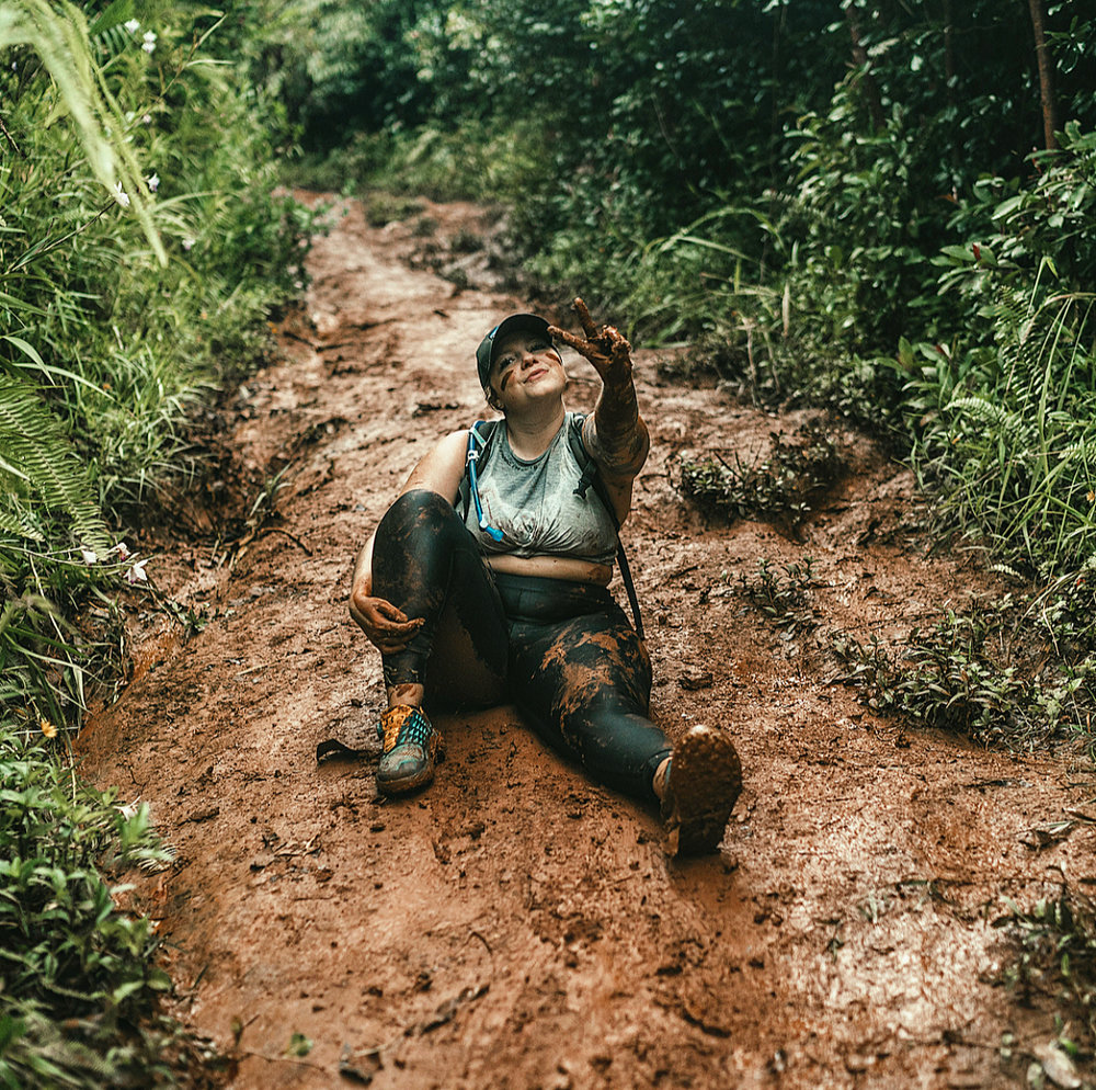 Hiking Pu'u Ma'eli'eli -