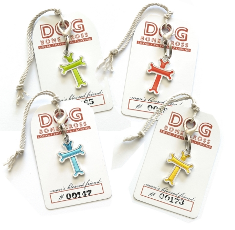 dog bone crosses