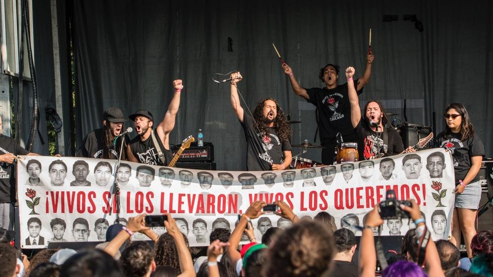 LA ARMADA en RUIDO FEST 2015