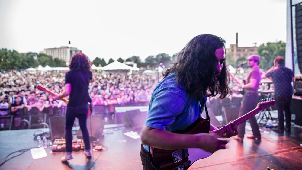 ENJAMBRE ante miles de Fans en RUIDO FEST 2015