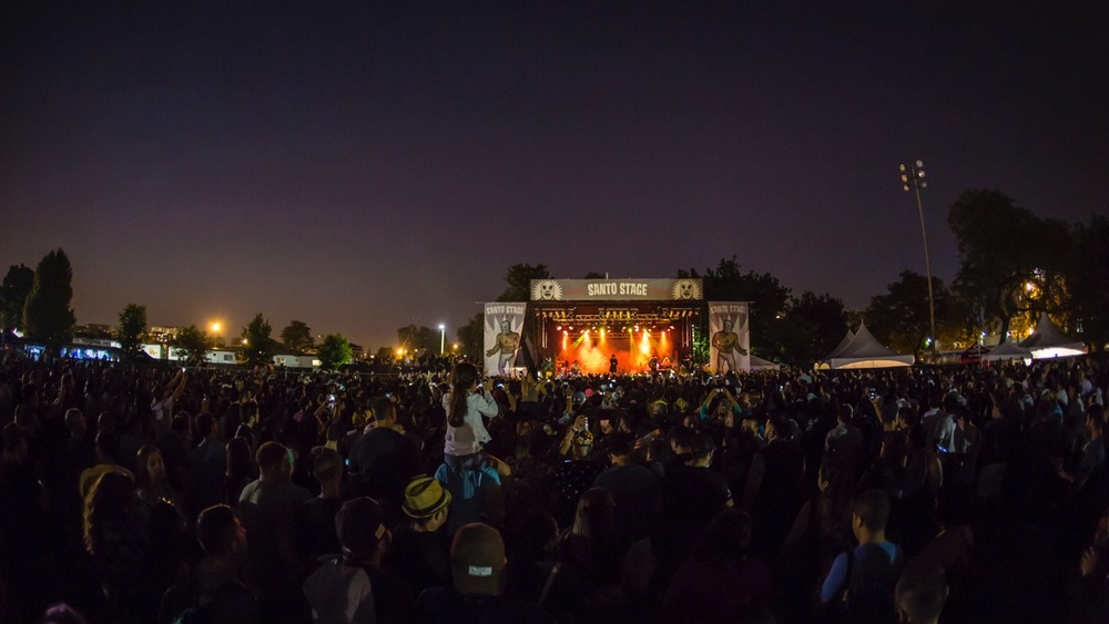 RUIDO FEST 2015  SANTO STAGE