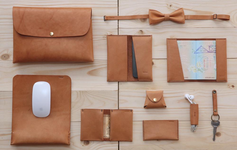 koncept tech leather accessories
