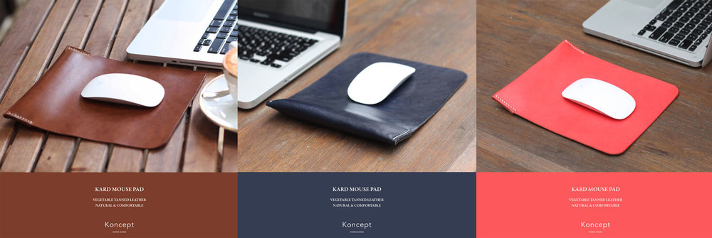 Classic vegetable tanned leather mouse pads.jpg