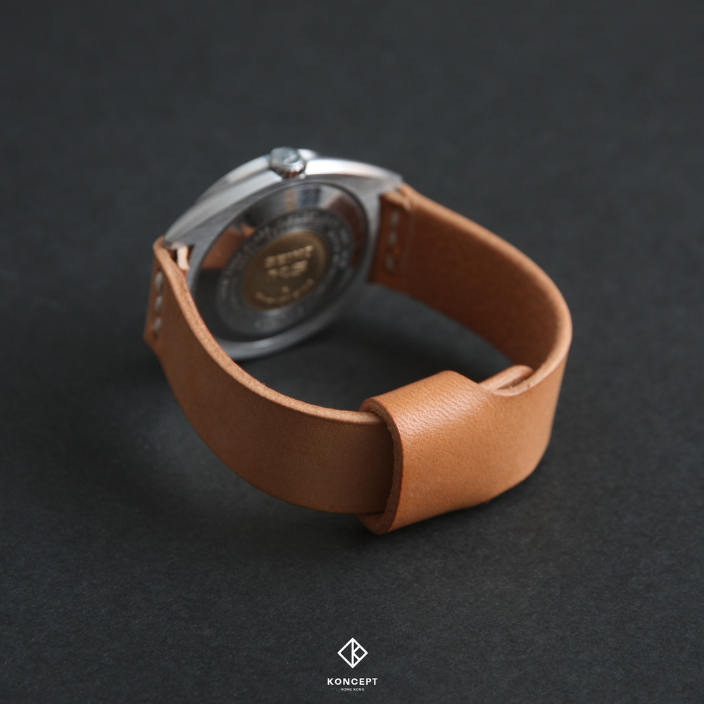 Vegetable tanned leather aging