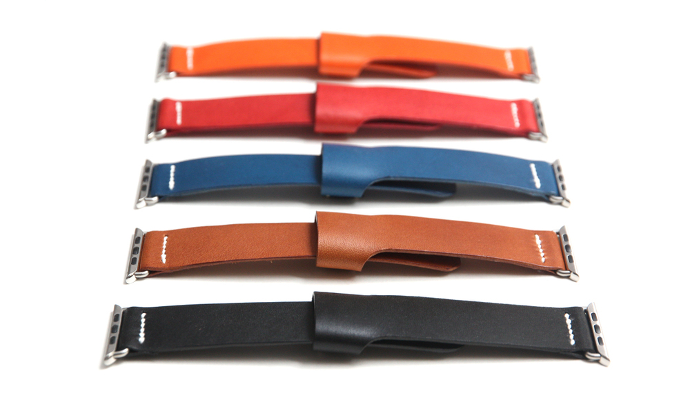 Apple Watch handmade leather bands