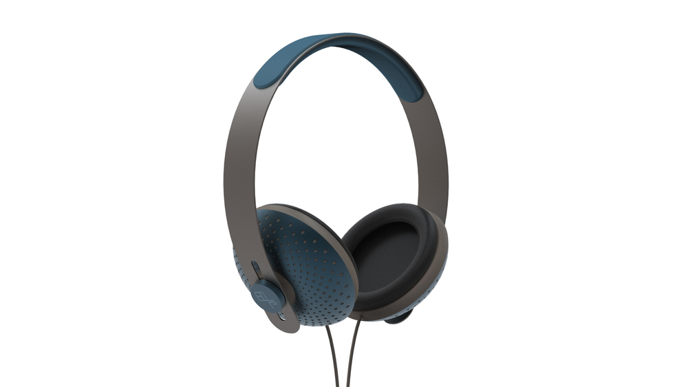 eops tech blue headphone