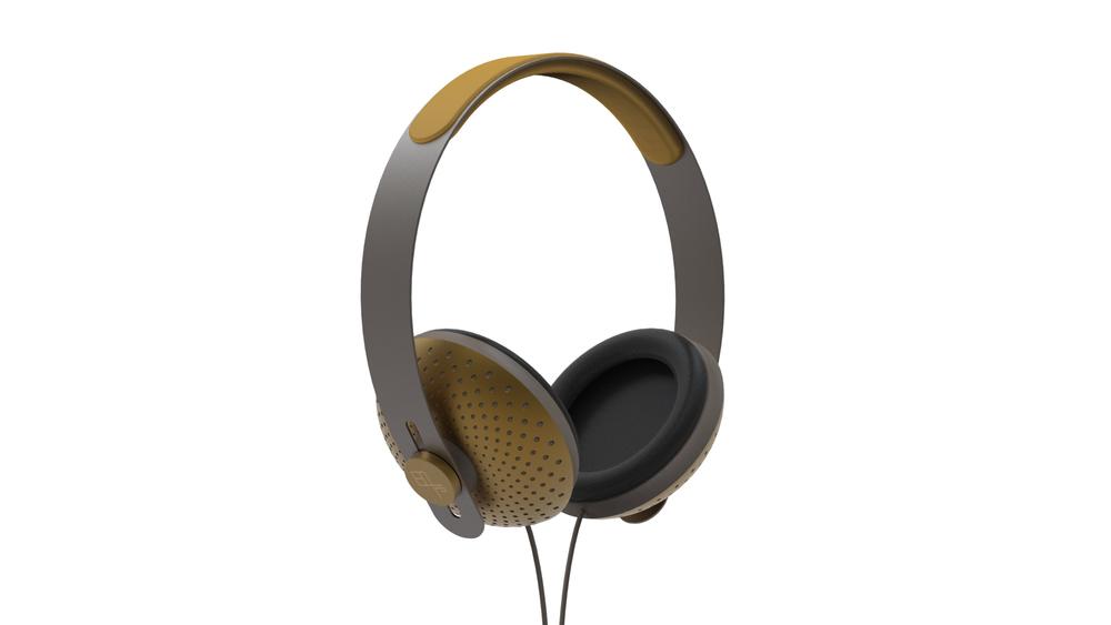 eops tech yellow headphone