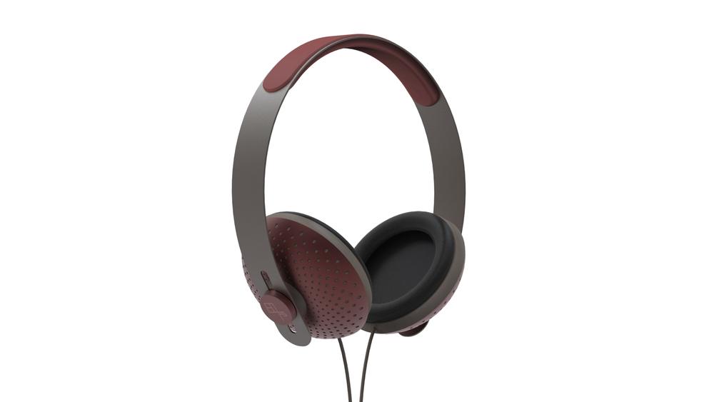 eops tech burgundy headphone