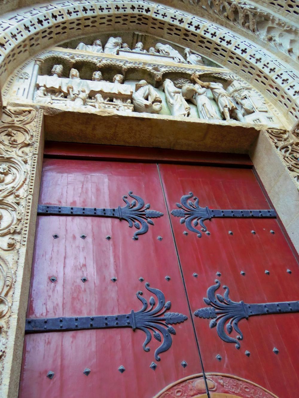 Doorway - Rouen Cathedral