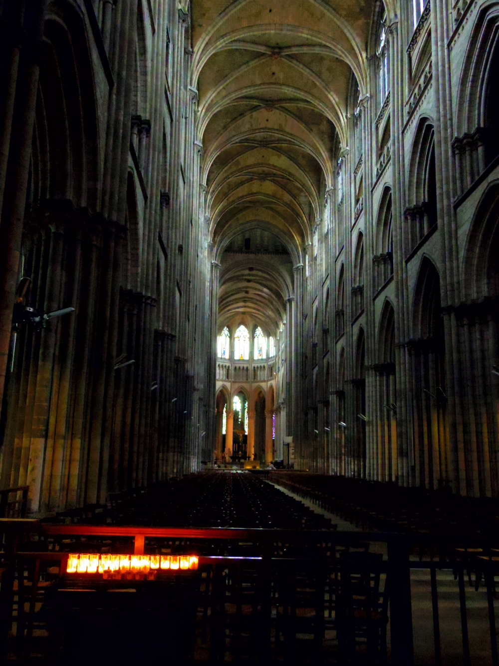 Interior - Rouen Cathedral