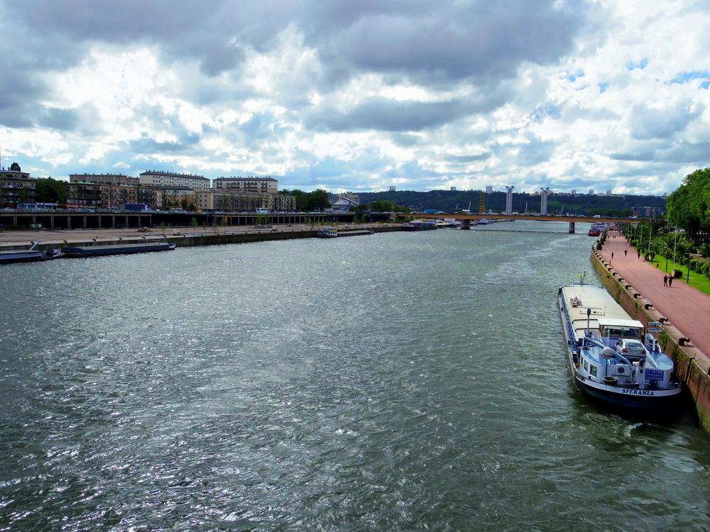 Seine River, Rouen