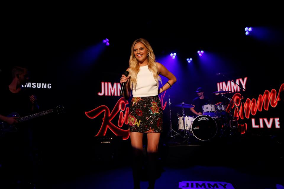 Kelsea Ballerini, Jimmy Kimmel Live, 2015