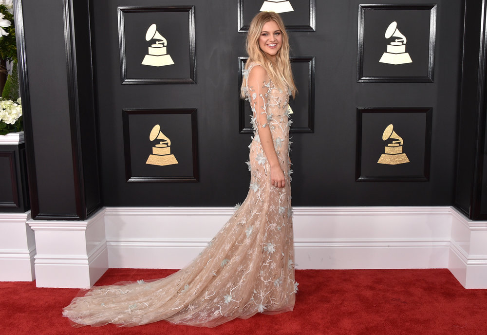 Kelsea Ballerini, 2017 Grammy Red Carpet