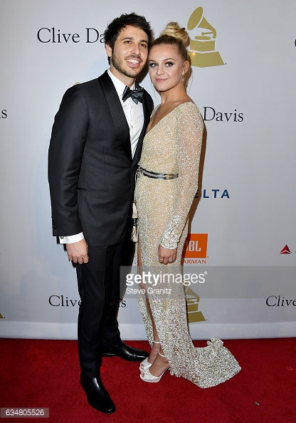 Kelsea Ballerini and Morgan Evans, Clive Davis Pre-Grammy Party 2017