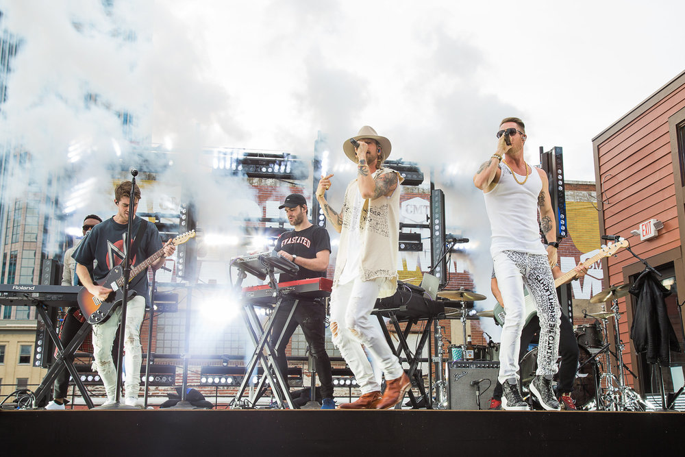Florida Georgia Line performs with the Chainsmokers for CMT Awards 2017
