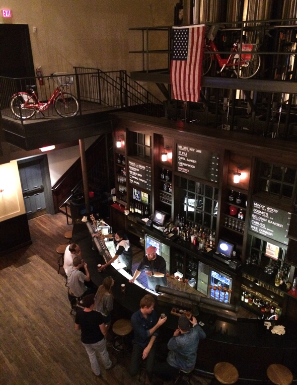 Taft's Ale House, balcony view