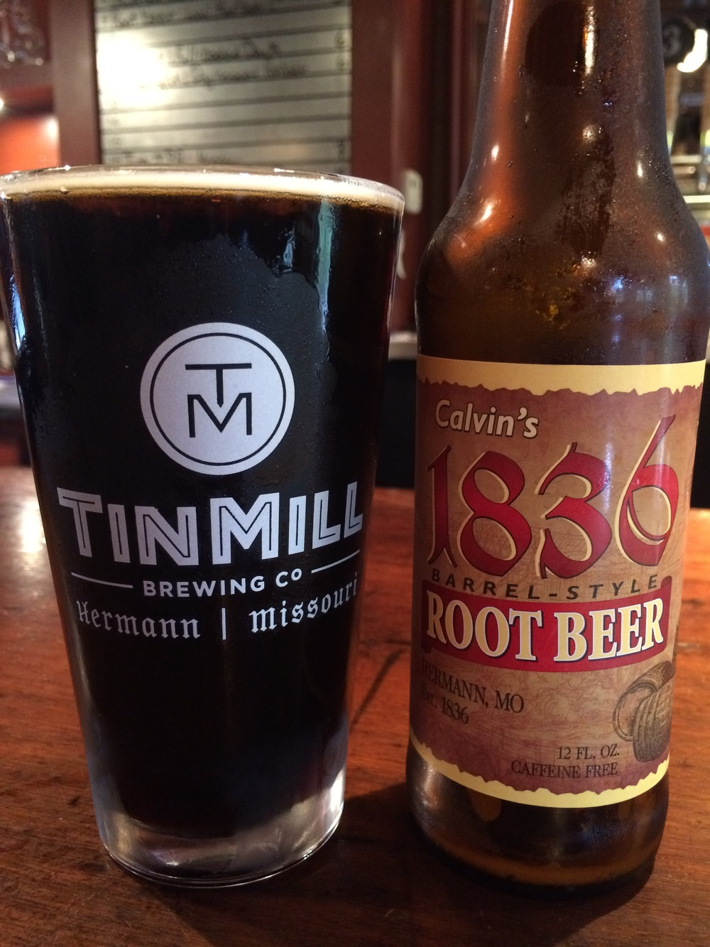 This best-ever root beer commemorates the year Hermann was founded.