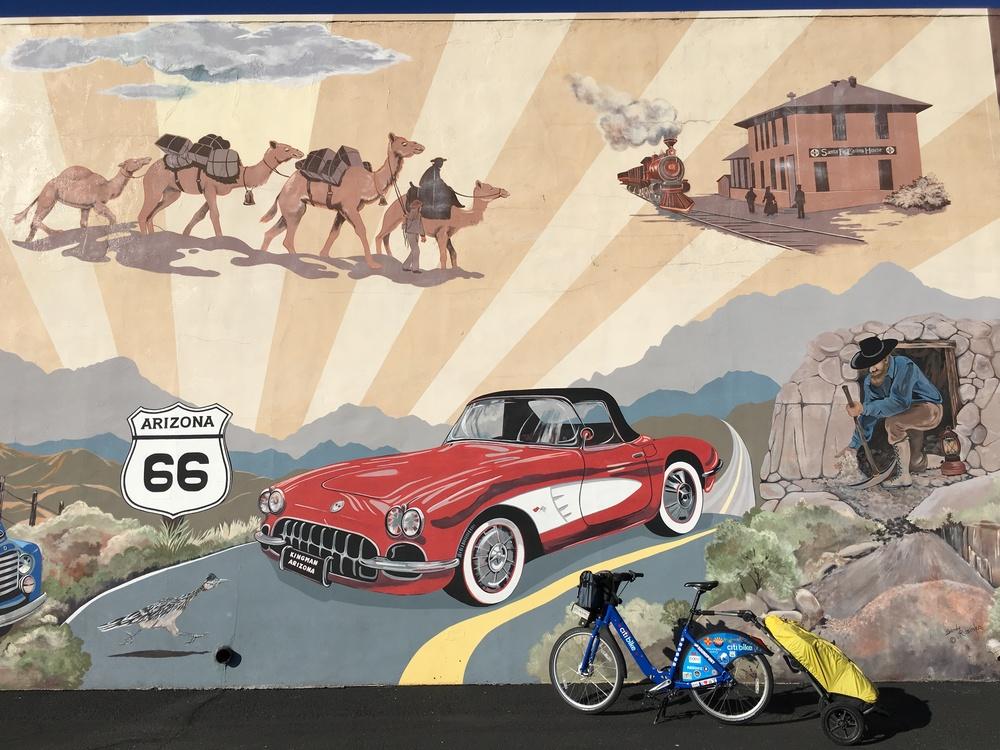 Mural in Kingman, AZ